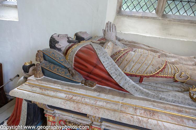 Tomb of Henry Howard, Earl of Surrey, died 1547, Framingham church, Suffolk, England, UK