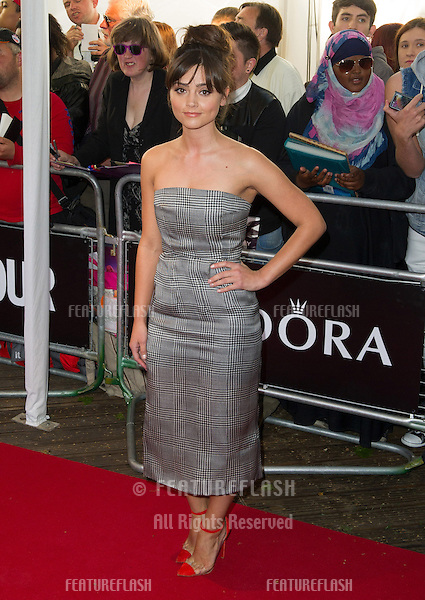 Jenna Louise Coleman arriving for the 013 Glamour Awards, Berkeley Square, London. 04/06/2013 Picture by: Alexandra Glen / Featureflash