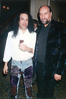 Paul Stanley &amp; Mick Fleetwood 1994<br /> Photo By John Barrett-PHOTOlink.net / MediaPunch