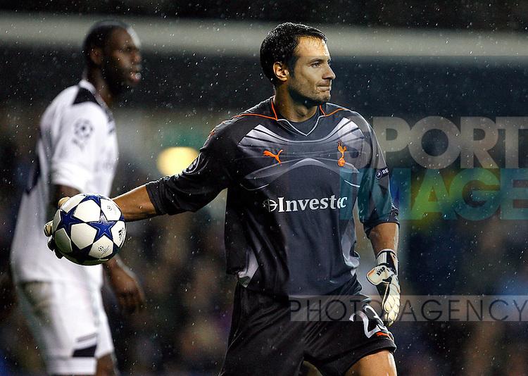 Carlo Cudicini of Tottenham Hotspur in action