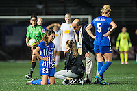 Allston, MA - Wednesday Sept. 07, 2016: Brooke Elby during a regular season National Women's Soccer League (NWSL) match between the Boston Breakers and the Western New York Flash at Jordan Field.