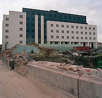 Augustus 1992. Eilandje in Antwerpen.
