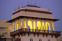 "Asie/Inde/Rajasthan/Jaipur : ""Rambagh Palace"" - Détail architecture"