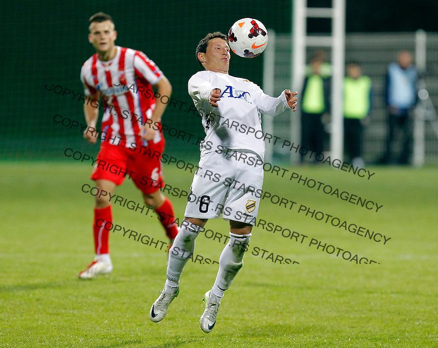 Fudbal Super liga season 2013-2014<br /> Cukaricki v Crvena Zvezda<br /> Dragoljub Srnic<br /> Beograd, 06.10.2013.<br /> foto: Srdjan Stevanovic/Starsportphoto &copy;