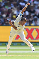 26th December 2019; Melbourne Cricket Ground, Melbourne, Victoria, Australia; International Test Cricket, Australia versus New Zealand, Test 2, Day 1; Neil Wagner of New Zealand bowls - Editorial Use
