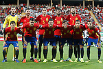 Spain's team photo with David De Gea, Sergio Ramos, Sergio Busquets, Diego Costa, Gerard Pique, David Silva, Vitolo, Koke Resurreccion, Sergi Roberto, Thiago Alcantara and Jordi Alba during FIFA World Cup 2018 Qualifying Round match. September 5,2016.(ALTERPHOTOS/Acero)