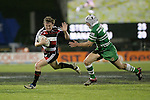 Kane Hancy during the Air New Zealand rugby game between Counties Manukau Steelers & Manawatu, played at Mt Smart Stadium on the 22nd of September 2006. Counties Manukau 25 - Manawatu 25.