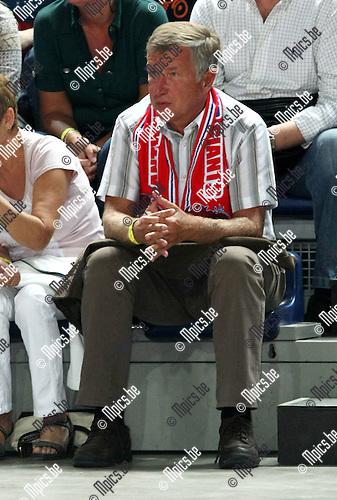 2008-09-28 / Basketbal / Antwerp Diamond Giants / Voorzitter Roger Roels..Foto: Maarten Straetemans (SMB)