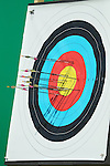 General View,<br /> AUGUST 5, 2016 - Archery : <br /> Women's Individual Ranking Round <br /> at Sambodromo<br /> during the Rio 2016 Olympic Games in Rio de Janeiro, Brazil. <br /> (Photo by Koji Aoki/AFLO SPORT)