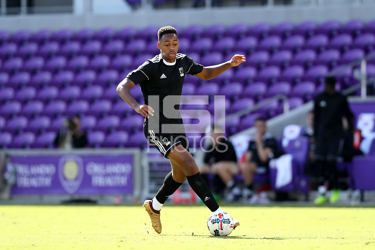 Orlando, Florida - Monday January 15, 2018: Mason Toye. Match Day 2 of the 2018 adidas MLS Player Combine was held Orlando City Stadium.