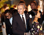 April 19, 2017, Tokyo, Japan - French fashion giant LVMH group CEO Bernard Arnault smiles as he enjoyed Dior's 2017 spring-summer haute couture collection at the rooftop of the Ginza Six in Tokyo on Wednesday, April 19, 2017. Tokyo's new landmark Ginza Six will open on April 20 where Dior will have its flagship store.     (Photo by Yoshio Tsunoda/AFLO) LwX -ytd-