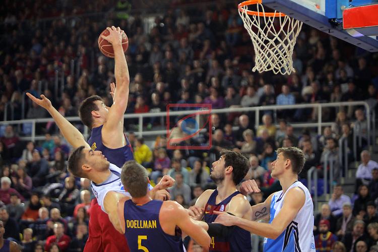 League ACB-ENDESA 2016/2017 - Game: 16.<br /> FC Barcelona Lassa vs Rio Natura Monbus Obradoiro: 100-76.