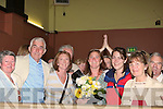 A delighted Grace O'Donnell as she was ellected on to the town council on Sunday......