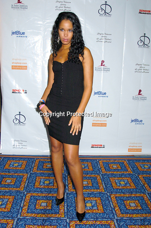 Xiomara Frans from America's Next Top Model ..at the 10th Annual Daytime Television Salutes St. Jude Children's Research Hospital Benefit on October 8, 2004 at the Marriott Marquis Hotel in New York City...Photo by Robin Platzer, Twin Images