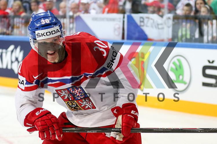 Tschechiens Krejcik, Jakub (Nr.30)(Orebro HK)  im Spiel IIHF WC15 Canada vs. Czech Republic.<br /> <br /> Foto &copy; P-I-X.org *** Foto ist honorarpflichtig! *** Auf Anfrage in hoeherer Qualitaet/Aufloesung. Belegexemplar erbeten. Veroeffentlichung ausschliesslich fuer journalistisch-publizistische Zwecke. For editorial use only.
