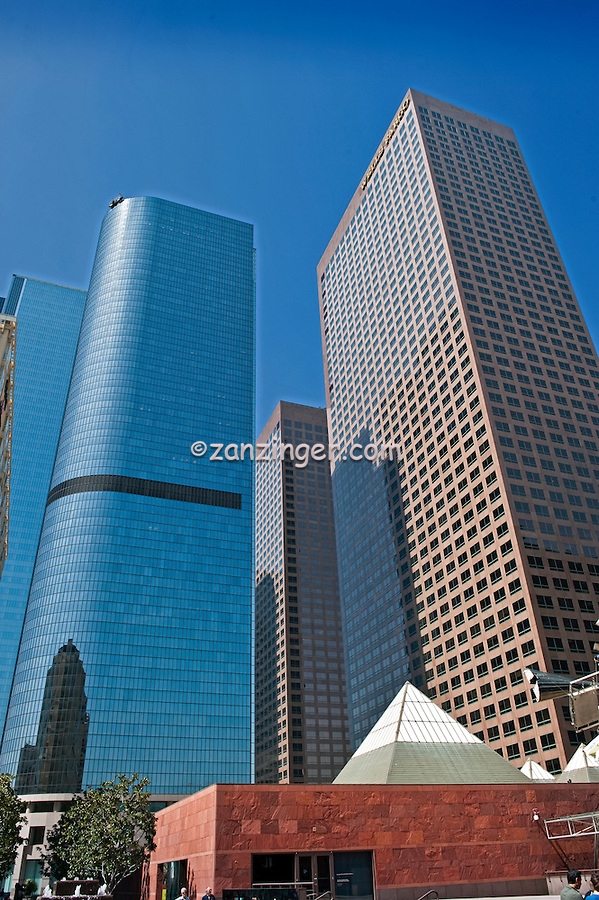 Bunker Hill, Financial district, California Plaza,  Downtown, Los Angeles, CA,  Architectural, Buildings Architecture