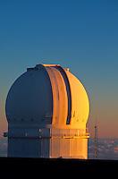 Observatory on Mauna Kea. Big Island of Hawaii