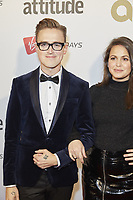 www.acepixs.com<br /> <br /> October 12 2017, London<br /> <br /> Tom Fletcher and Giovanna Fletcher arriving at the Virgin Holidays Attitude Awards 2017 at the Roundhouse on October 12 2017 in London.<br /> <br /> By Line: Famous/ACE Pictures<br /> <br /> <br /> ACE Pictures Inc<br /> Tel: 6467670430<br /> Email: info@acepixs.com<br /> www.acepixs.com