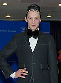 Johnny Weir arrives for the 2015 White House Correspondents Association Annual Dinner at the Washington Hilton Hotel on Saturday, April 25, 2015.<br /> Credit: Ron Sachs / CNP