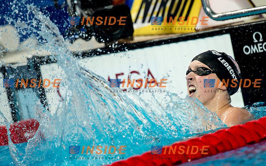 Katie Ledecky USA<br /> 800 freestyle women<br /> Swimming Nuoto Kazan Arena<br /> Day16 08/08/2015  FINALS<br /> XVI FINA World Championships Aquatics <br /> Kazan Tatarstan RUS July 24 - Aug. 9 2015 <br /> Photo G.Scala/Deepbluemedia/Insidefoto