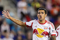 Tim Cahill (17) of the New York Red Bulls. The New York Red Bulls and the Philadelphia Union played to a 0-0 tie during a Major League Soccer (MLS) match at Red Bull Arena in Harrison, NJ, on August 17, 2013.