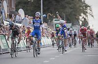 Fernando Gaviria (COL/Etixx-QuickStep) wins the bunch sprint<br /> <br /> 2016 Primus Classic Impanis - Van Petegem (1.HC)<br /> Belgium: Brakel &rsaquo; Boortmeerbeek (200.4km)