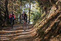 testing some gravel roads in Lombardia (Italy) <br /> <br /> autumn 2017