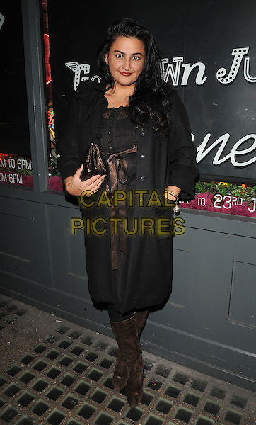 Kiran Sharma attends the Notion magazine issue 71 launch party, Lights of Soho, Brewer Street, London, UK, on Friday 18 December 2015.<br /> CAP/CAN<br /> &copy;Can Nguyen/Capital Pictures