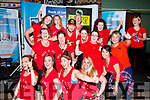 Zumba Jerry, and his dancers pictured at the Tralee Enterprise Town Community, Sport and Business Expo at Tralee Sports Complex on Saturday morning last.