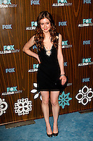 January 11, 2010:  Hayley McFarland arrives at the Fox All Star Party at the Villa Sorisso in Pasadena, California.Photo by Nina Prommer/Milestone Photo