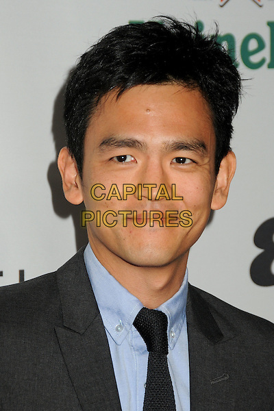 "JOHN CHO.Oxfam America and Esquire House LA Host ""The Oxfam Party"" held at Esquire House LA, Los Angeles, California, USA, .18th November 2010..portrait headshot black tie blue shirt .CAP/ADM/BP.©Byron Purvis/AdMedia/Capital Pictures."
