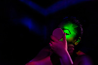 A Salvadoran sex worker applies makeup before the beginning of the work shift in a sex club in San Salvador, El Salvador, 8 April 2018. Sex workers' task in the club is to be an entertaining and seductive companion. Performing erotic dance on the pole they make the customers stay as long as possible and buy relatively expensive alcoholic beverages from which they have a certain share. Sex workers are not obliged to have sexual intercourse with the club customers, they decide themselves, usually according to their current economic situation.