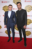 29 March 2017 - Las Vegas, NV - Dave Franco, Justin Theroux. 2017 Warner Brothers The Big Picture Presentation at CinemaCon at Caesar's Palace.  Photo Credit: MJT/AdMedia