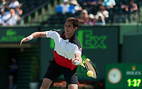 FEDERICO DELBONIS (ARG)<br /> <br /> MIAMI OPEN, CRANDON PARK, KEY BISCAYNE, FLORIDA, USA<br /> <br /> &copy; TENNIS PHOTO NETWORK