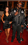 "UNIVERSAL CITY, CA. - March 12: Sleepy Brown of Outkast (R) and Liana Mendoza arrive at the Los Angeles premiere of ""Fast & Furious"" at the Gibson Amphitheatre on March 12, 2009 in Universal City, California."