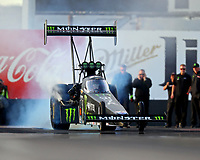 Feb 3, 2017; Chandler, AZ, USA; NHRA top fuel driver Brittany Force during Nitro Spring Training preseason testing at Wild Horse Pass Motorsports Park. Mandatory Credit: Mark J. Rebilas-USA TODAY Sports