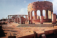 Italy: Rome--Leptis Magna, view of Market Place. Menen, CITIES IN THE SAND. Ref. only.