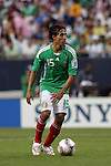 June 08 2008:  Francisco Arce (Santos Laguna) (15) of Mexico.  During the third and final match of Mexico's 2008 USA Tour in preparation for qualification for FIFA's 2010 World Cup, the national soccer team of Mexico defeated Peru 4-0 at Soldier Field, in Chicago, IL.