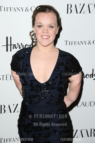 Ellie Simmonds arriving for the Harper's Bazaar Women of the Year Awards 2012 at Claridge's Hotel, London. 31/10/2012 Picture by: Steve Vas / Featureflash
