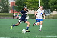 Allston, MA - Sunday July 17, 2016: Tasha Kai, Kathryn Schoepfer during a regular season National Women's Soccer League (NWSL) match between the Boston Breakers and Sky Blue FC at Jordan Field.