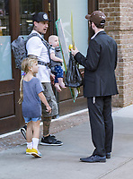Carey Hart returning to his hotel with his children; Willow and Jameson while wife Pink is busy in meetings<br /> -<br /> FOR UK, SPAIN PUBLICATIONS AND OTHER COUNTRIES REQUIRED BY LAW PICTURES CONTAINING CHILDREN PLS PIXELATE THEIR FACES PRIOR TO PUBLICATION<br /> DYDPPA MEDIA DONT TAKE ANY RESPONSABILITY IF THE PUBLICATION DO NOT PIXELATE CHILDREN FACES