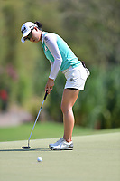 PATTAYA, THAILAND - FEBRUARY 22: Minjee Lee of Australia on the 17th green during the second round of the Honda LPGA Thailand 2019 at Siam Country Club Pattaya (Old Course), Pattaya, Thailand on February 22, 2019.<br /> .<br /> .<br /> .<br /> (Photo by: Naratip Golf Srisupab/SEALs Sports Images)<br /> .<br /> Any image use must include a mandatory credit line adjacent to the content which should read: Naratip Golf Srisupab/SEALs Sports Images