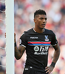 Crystal Palace's Patrick Van Aanholt in action during the premier league match at the Anfield Stadium, Liverpool. Picture date 19th August 2017. Picture credit should read: David Klein/Sportimage