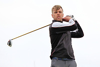 David Foy (Laytown & Bettystown) on the 16th tee during Round 2 of The East of Ireland Amateur Open Championship in Co. Louth Golf Club, Baltray on Sunday 2nd June 2019.<br /> <br /> Picture:  Thos Caffrey / www.golffile.ie<br /> <br /> All photos usage must carry mandatory copyright credit (© Golffile   Thos Caffrey)