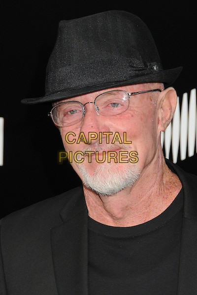 Jonathan Banks<br /> &quot;Breaking Bad&quot; Final Episodes Los Angeles Premiere Screening held at Sony Pictures Studios, Culver City, California, USA, 24th July 2013.<br /> portrait headshot black hat glasses beard facial hair <br /> CAP/ADM/BP<br /> &copy;Byron Purvis/AdMedia/Capital Pictures