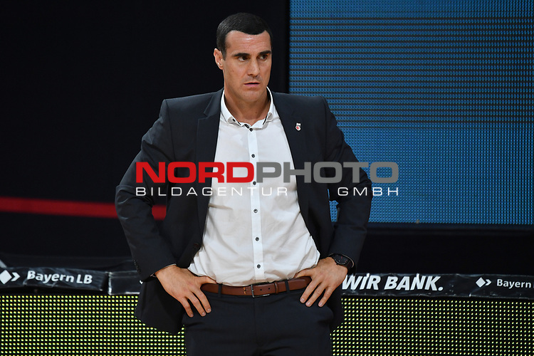 Roel MOERS (Trainer BA).<br /> <br /> Basketball 1.Bundesliga,BBL, nph0001-Finalturnier 2020.<br /> Viertelfinale am 18.06.2020.<br /> BROSE BAMBERG-EWE BASKETS OLDENBURG,<br /> Audi Dome<br /> <br /> Foto:Frank Hoermann / SVEN SIMON / /Pool/nordphoto<br /> <br /> National and international News-Agencies OUT - Editorial Use ONLY