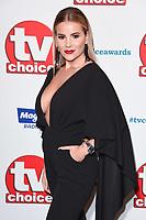 Georgia Kousoulou<br /> at the TV Choice Awards 2018, Dorchester Hotel, London<br /> <br /> ©Ash Knotek  D3428  10/09/2018