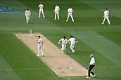 23rd March 2018, Eden Park, Auckland, New Zealand; International Test Cricket, New Zealand versus England, day 2;  Henry Nicholls and BJ Watling running between the wickets