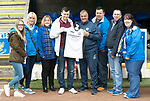 St Johnstone v Rangers&Ouml;21.05.17     SPFL    McDiarmid Park<br /> Barossa Saints presentation to Youth Development Manager Alistair Stevenson<br /> Picture by Graeme Hart.<br /> Copyright Perthshire Picture Agency<br /> Tel: 01738 623350  Mobile: 07990 594431