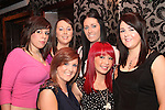 Megan, Roisin, Martina, Sharon, Jessica and Danielle celebrating New Years Eve in Grennans...(Photo credit should read Jenny Matthews www.newsfile.ie)....This Picture has been sent you under the conditions enclosed by:.Newsfile Ltd..The Studio,.Millmount Abbey,.Drogheda,.Co Meath..Ireland..Tel: +353(0)41-9871240.Fax: +353(0)41-9871260.GSM: +353(0)86-2500958.email: pictures@newsfile.ie.www.newsfile.ie.